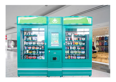 China Mini Hospital Double Pharmacy Vending Machine With Advertising Display factory