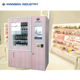 China Custom Lift Electronics Wine Champagne Vending Machine With 22/32 Touch Screen factory