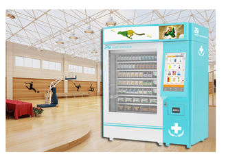 China Coin Operated Drug Pharmacy Vending Machine With Printing Recept Invoice Function factory