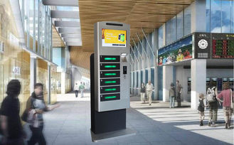 China Free Use Indoor Mobile Phone Charging Stations For Library Restaurant factory