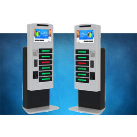 China Fast Charging High Secure Cell Phone Charging Stations For Tablet Pc With LCD factory