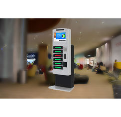 China High Security Fast Charging Cell Phone Charging Stations Accept Peso Coins And Bills factory