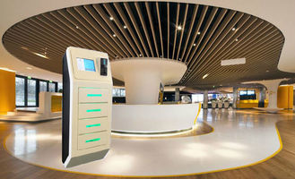 China Free Use Smart Cell Phone Charging Stations With Reliable Operation System factory