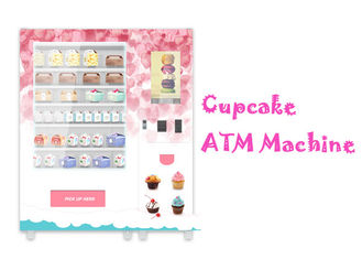 China Automatic Food Vending Machine For Cupcake Breakfast Bread With Elevator Lift factory