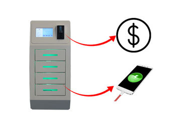 China Coin Operated Wall Mounted Cell Phone Charging Stations Free Charging For Bar Casino factory