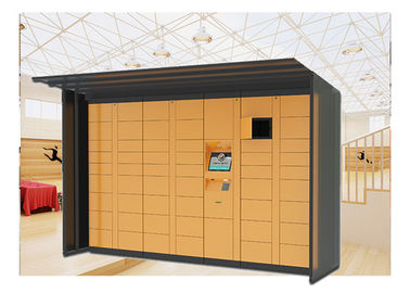 China Automatic Post Parcel Locker Locations , Mailbox Delivery Electronic Parcel Lockers factory