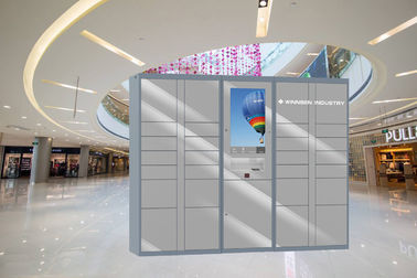 China 7/24 Hours Hire Intelligent Parcel Delivery Lockers , Parcel Collection Lockers EL201A Series factory