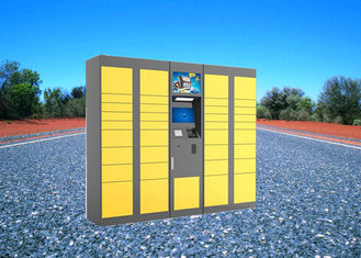 China Electric Digital Parcel Delivery Lockers For Retail Store , Intelligent 15 Inch Touch Screen factory