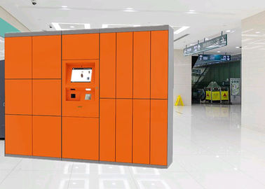 China Automatic Network Computerized Parcel Locker Delivery Service For Apartment With Remote Control factory