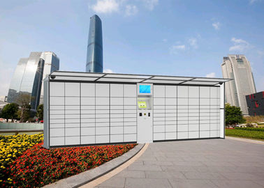 China Durable Postal Cabinet Steel Parcel Locker Service With Different Sizes For Express Company factory