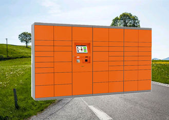 China Advanced Digital Parcel Delivery Lockers With Barcode Scanner For Outdoor Use factory