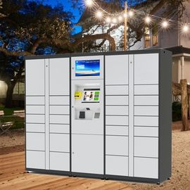China Intelligent Parcel Delivery Lockers , Parcel Register Locker And Laundry Locker factory