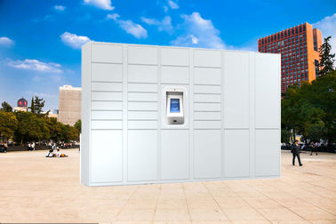 China Digital Electronic Smart Parcel Lockers , Parcel Collection Lockers For Home Use Or Online factory