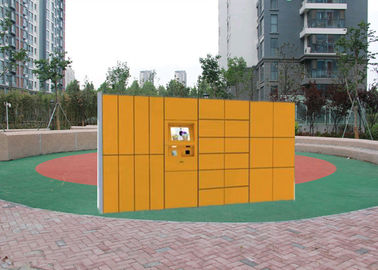 China Electronic Express Smart Parcel Lockers With Logistic Distribution System For Retail Store factory