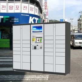 China Outdoor Intelligent Parcel Delivery Lockers , Steel Luggage Secure Electronic Parcel Lockers factory