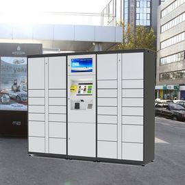 China Smart Parcel Delivery Lockers / Parcel Delivery System For Apartment Supermarket factory