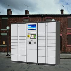 China Smart Post Parcel Mailbox Delivery Electronic Locker For Home Or Online Shopping Use factory