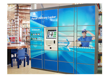 China Metal 36 Door Electronic Parcel Delivery Locker For Safe Storage , Automated Parcel Lockers factory