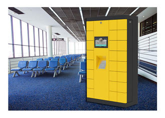 China Airport Bus Station Luggage Cabinet Storage Public Lockers With Coin Operated factory