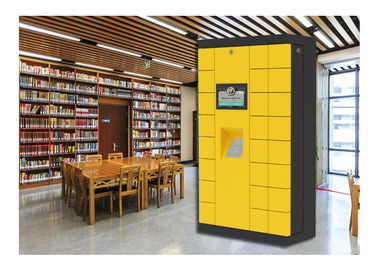 China Library Smart Cabinet Luggage Lockers , Digital Safe Locker For Rental In Public factory