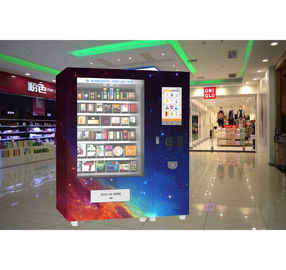 China Refrigerated Milk Sandwich Fruit Snack Vending Machine For Shopping Mall Train Station factory