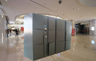 China Indoor Use Smart Package Delivery Locker Suitable For Logistics Company And Staff Login factory