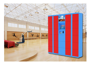 China Winnsen Steel Supermarket Luggage Lockers Customized Electronic Multi Door Size factory