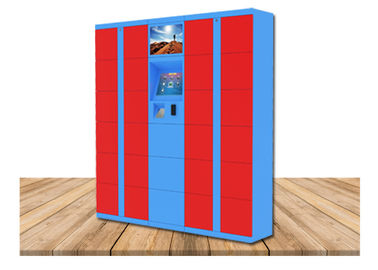 China Digital Post Parcel Delivery Electronic Locker Rental In Public For Charging Phone factory