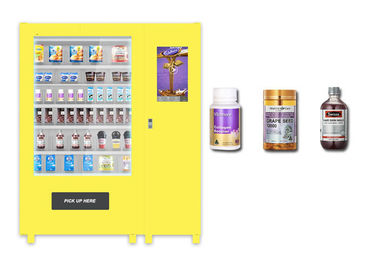 China Self Auto Elevator Food Vending Machine , Mini Cupcake Drink Egg Vending Machine factory