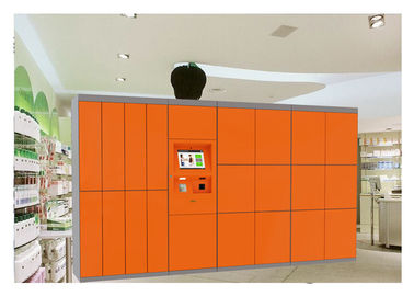 China 24 Hours Online Website Remote Laundry Locker With Custom Lockers And Big Touch Screen factory