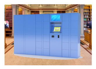 China Winnsen Steel Smart Barcode Train Station Lockers , Automated Parcel Lockers factory