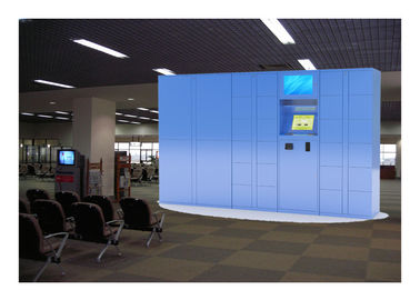 China Intelligent Electronic Locker Rental In Public For Charging Phone With Windows System factory