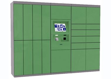 China Green Intelligent Laundry Locker With Safety Camera Option , Simple Operation And Manage factory