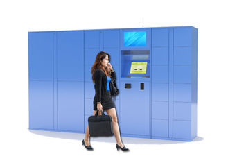 China University Students Smart Storage Luggage Lockers With Different Door Size factory