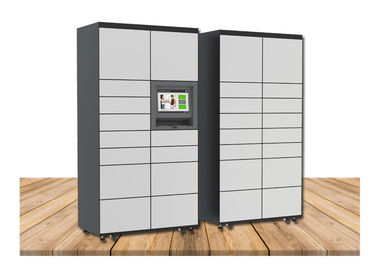 China Customized Smart Metal Cabinet Luggage Lockers With Phone Charging Function factory