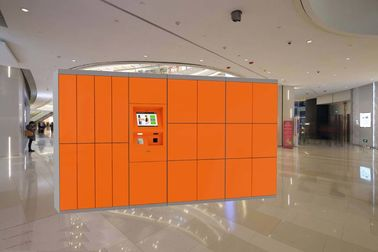 China Convenient Baggage Locker Electronic Parcel Delivery Locker 7/24 Non Stop Service factory