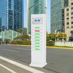 China Stand Alone Smart Cell Phone Charging Stations For Shopping Mall Station factory