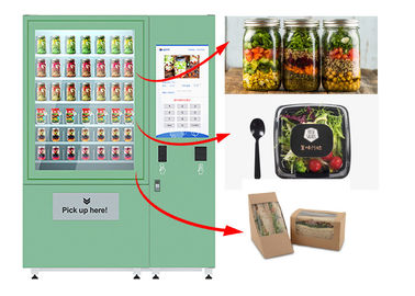 China Winnsen Belt Cupcake Vending Machine Fruit Vegetables Vending Lockers With Lift System factory