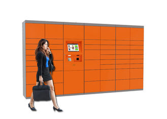 China Winnsen Automatic Smart Steel Luggage Lockers Rental With Remote Control Function factory