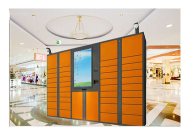 China Water Park Luggage Lockers Storage Steel Furniture Belonging With Touch Screen factory