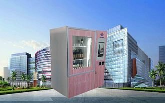 China CE FCC Winnsen Wine Vending Machine For Shopping Mall With Credit Card Reader Payment factory