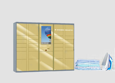 China Durable Structure Electronic Laundry Locker For Indoor Dry Clean Business factory