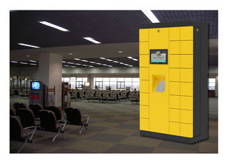 China Winnsen Safe Luggage Lockers For Storage And Charging Phones With Multi Language UI factory