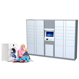 China 24/7 Automatic Service Dry Cleaning Locker Systems Smart Laundry Service Locker for School Apartment factory