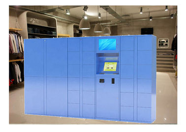 China OEM Outdoors Metal Belonging And Luggage Locker By PIN Code With Payment System factory