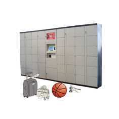 China Smart Click & Collect Luggage Lockers Self Pickup Locker with CE FCC Certificate factory