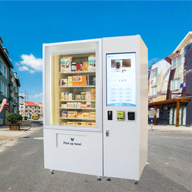 China Touch Screen Coin Operated Mini Mart Vending Machine For Cosmetic Gift Game factory