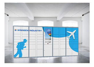 China Storage Metal Coin Luggage Lockers Widely Used Smart Electronic Locker For Bag factory