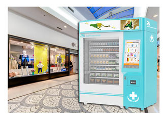 China Self Service Pharmacy Vending Machine With Lift System Remote Control Platform factory