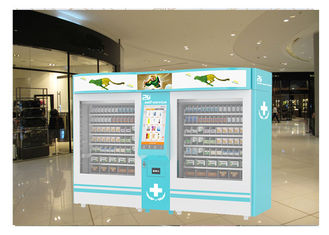 China Indoor Outdoor Elevator Lift Drug Medicine Vending Machine For Sale With Advertising Screen factory